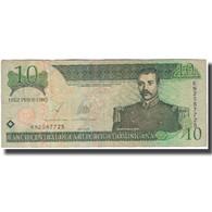 Billet, Dominican Republic, 10 Pesos Oro, 2003, KM:168c, TB+ - Dominicaine