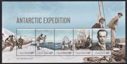 Australian Antarctic 2014 Expedition 1914 Homeward Bound Minisheet CTO - Gebraucht
