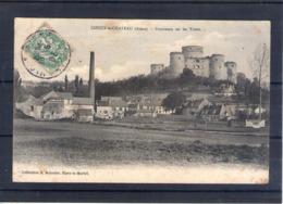 02. Coucy Le Château. Panorama Sur Les Tours - France