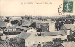 PIE-Z AR-19-1590 :  MONTARGIS. USINE A GAZ. - Montargis