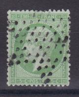 CP 155 / NAPOLEON N° 20 OBL COTE 10€ - 1862 Napoléon III