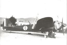 PHOTO AVION BRISTOL BLENHEIM V 3 NL8363 GB LORRAINE A DAMAS EN JUIN 1941  12X18CM - Aviation