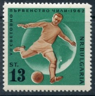 Y85 Bulgaria 1962 1312 1962 World Cup - Chile. Sport. Football - Fußball-Weltmeisterschaft