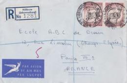 AFRIQUE DU SUD : Recommandé De Johannesbourg Pour La France - South Africa (...-1961)
