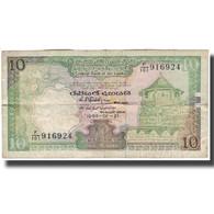 Billet, Sri Lanka, 10 Rupees, 1989-02-21, KM:96c, TB - Sri Lanka