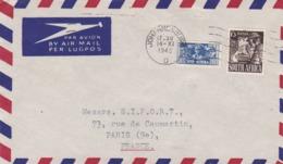 AFRIQUE DU SUD : Divers Sur Lettre De 1945 Johannesbourg Pour La France - South Africa (...-1961)