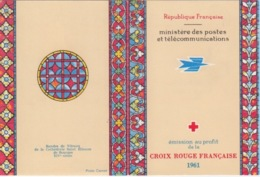 Carnet Croix Rouge 1961 (Rouault Miserere N° 1323 Si Doux D'aimer, 1324 L'aveugle...), Neuf Sans Traces - Rotes Kreuz