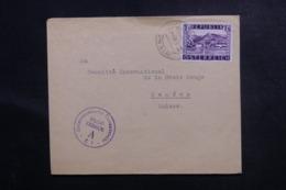 AUTRICHE - Enveloppe De Wien Pour La Suisse En 1948 Avec Contrôle Postal - L 47019 - 1945-.... 2ª República