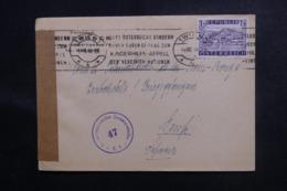 AUTRICHE - Enveloppe De Wien Pour La Suisse En 1948 Avec Contrôle Postal - L 47020 - 1945-.... 2ª República