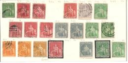 Lot Trinidad&Tobage II 20 Gute Werte Sitzende Britannia - Trinidad & Tobago (...-1961)