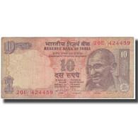 Billet, Inde, 10 Rupees, KM:89c, TB - India