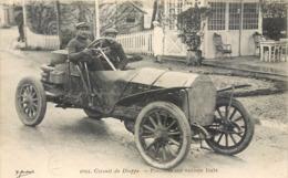 CPA 76 Circuit De Dieppe Piacenza Sur Voiture Itala Course Automobile - Cartoline