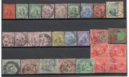 Lot Trinidad&Tobage III über 25 Sauber Gestempelte Werte - Trinidad & Tobago (...-1961)
