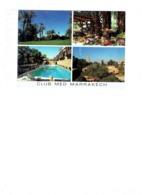 Grande Cpm - Maroc > Marrakech - Multivues CLUB MED - Piscine SALLE RESTAURANT Pomme Raisin - Marrakech
