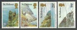 ST HELENA 1982 VIEWS GEOLOGY SET MNH - St. Helena