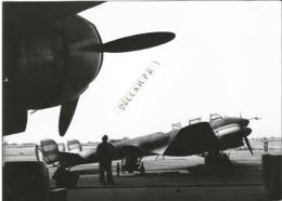 PHOTO AVION POTEZ 63 11 AU SOL RAVITAILLEMENT  ARCHIVE ECPA  12X18CM - Aviation