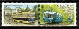Ukraine 2015 Ucrania  / Transport Trams Funiculars MNH Tranvías Funiculares Strassenbahn Tramways / Cu15016  1-27 - Tranvías