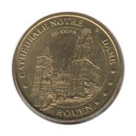 76003 - MEDAILLE TOURISTIQUE MONNAIE DE PARIS 76 - Cathédrale Notre Dame - 2014 - Monnaie De Paris