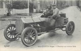 CPA 76 Circuit De Dieppe Piacenza Sur Voiture Itala Course Automobile - Motorsport