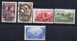 Sellos   Nº 462/6  Rusia - 1923-1991 URSS