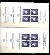 Liechtenstein Bloc-feuillet YT N° 3 (quatre Blocs ** MNH Et Quatre Blocs Oblitérés). B/TB. A Saisir! - Bloques & Hojas
