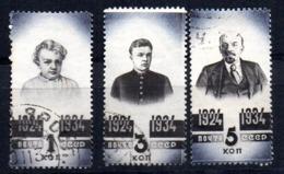Sellos Nº 530/2   Rusia - 1923-1991 URSS