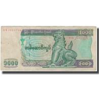 Billet, Myanmar, 1000 Kyats, KM:80, TB - Myanmar