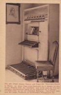 CPA Orgue Orgel Alte Orgel Kasten Manual Und Pedal Der Minoriten Kirche In Bonn - Musik Und Musikanten