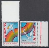 Europa Cept 1995 Romania 2v  (+margin) ** Mnh (45215A) - 1995