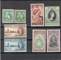 Lot Trinidad&Tobage IX Einige Kompl. Ausgaben Ungebraucht* - Trinidad & Tobago (...-1961)