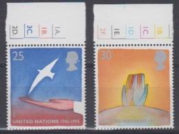 Europa Cept 1995 Great Britain 2v ** Mnh (45215E) - 1995