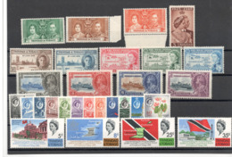 Lot Trinidad&Tobage X Einige Kompl. Ausgaben Ungebraucht* - Trinidad & Tobago (...-1961)