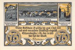 75 Pfg.Pfg.Stadt Eschershausen B. Braunschweig UNC (I) - [11] Lokale Uitgaven