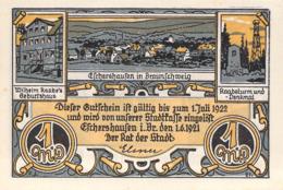 1 Mark.Stadt Eschershausen B. Braunschweig UNC (I) - [11] Lokale Uitgaven