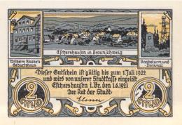 2 Mark.Stadt Eschershausen B. Braunschweig UNC (I) - [11] Lokale Uitgaven