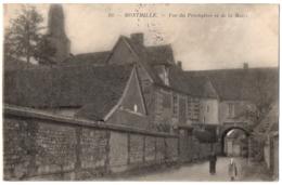 CPA 60 - MONTMILLE (Oise) - 10. Vue Du Presbytère Et De La Mairie (petite Animation) - France