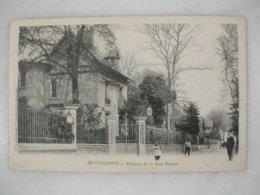 MONTGERON - Paysage De La Rue Parent (animée) - Montgeron