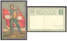FLAGG FAHNE DRAPEAU RED CROSS ROTES KREUZ CROIX ROUGE CRUZ ROJA SWITZERLAND SCHWEIZ SWISS HELVETIA 1912  POSTKARTE - Flaggen
