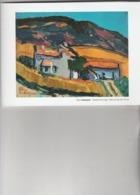 PIERRE AMBROGIANI  Corse Marseillais    : QUARTIER DE LA LOGE    20X15 - Peintures & Tableaux