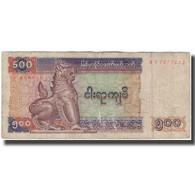 Billet, Myanmar, 500 Kyats, KM:79, B - Myanmar