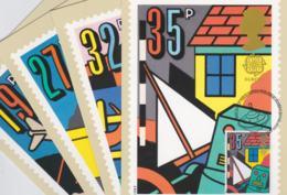 Great Britain Maxicard 1989 Europa CEPT (G105-34) - Europa-CEPT
