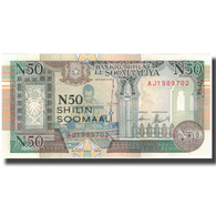 Billet, Somalie, 50 N Shilin = 50 N Shillings, 1991, KM:R2, SPL - Somalië