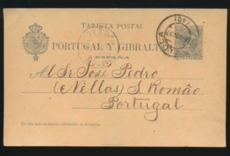 TARJETA POSTAL  15 CENTIMOS - 1889-1931 Reino: Alfonso XIII