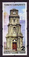2018 TURKEY HISTORICAL CLOCK TOWERS MNH ** - 1921-... Repubblica