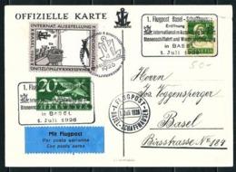 Suiza Nº A-4 (S) Primer Vuelo - Año 1926 - Primeros Vuelos