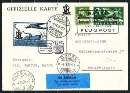 Suiza Nº A-4 (S) Primer Vuelo - Año 1926 - Posta Aerea