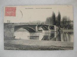 RIS ORANGIS - Vue Du Pont Et Sanatorium - Ris Orangis