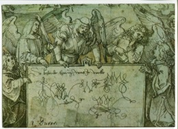 Picture Postcard Stationery (Angels/A. Dürer) - Lettres & Documents