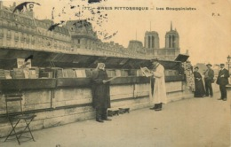 PARIS PITTORESQUE  Les Bouquinistes - Artigianato Di Parigi