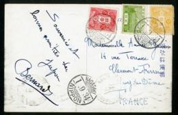 """N° 191 +246A + 247 Cancellation """"NAGASAKI PAQUEBOT 1/9/34"""" On A Postcard, See Description - 1926-89 Emperor Hirohito (Showa Era)"""